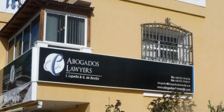 Despacho de abogados en ell sur de tenerife
